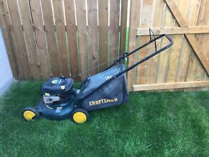 2 in 1 Craftsman 6.25hp lawnmower.  Lawn mower