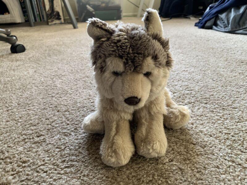 Webkinz Signature Timber Wolf Ganz Plush Toy Stuffed Animal