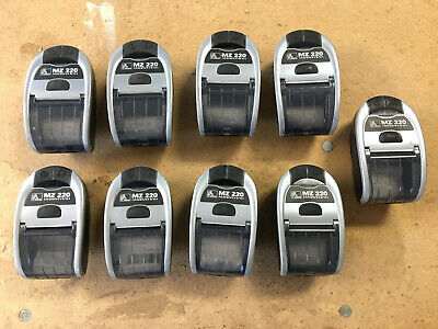 Zebra Mz 220 Mobile Pos Portable Bluetooth Thermal Receipt Printer No Battery