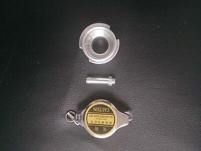 RADIATOR 11 BAR  CAP  WELD ON ALL ALUMINUM RADIATOR FILLER NECK