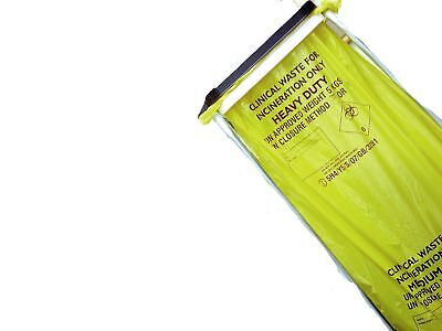 Heavy Duty Clinical Waste Sacks For Incineration 11x17x26