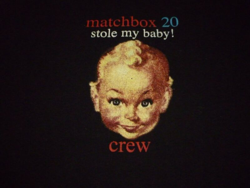 Matchbox 20 Crew Tour Shirt ( Size XL ) NEW!!!