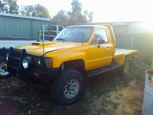 1984 Toyota Hilux with Holden V8 Conversion Mundijong Serpentine Area Preview