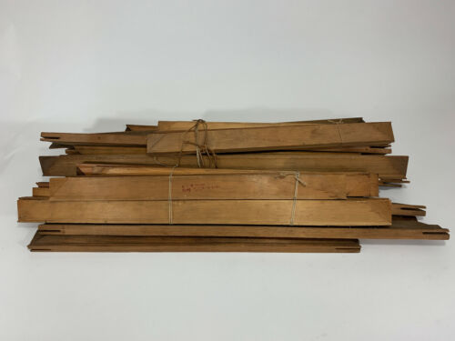 Lot of Antique Canvas Stretcher Bars - Early 1900s Lot of 28 - ANCO Glendale NY