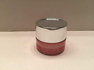 Clinique All About Eyes Rich Reduces Puffs Circle 5Ml    17 Oz