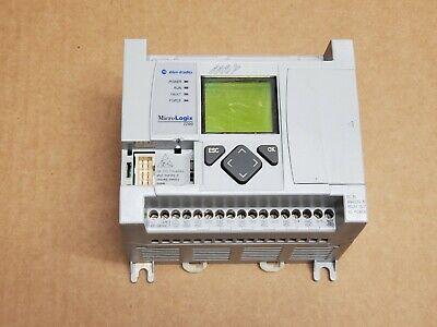 Allen Bradley Micrologix 1100 Controller 1763-l16bwa Ser-a Rev-b Frn 2