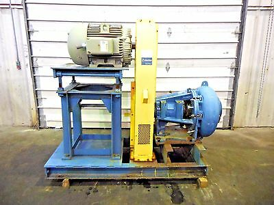 Rx-3612 Metso Mm200 Lhc-d 8 X 6 Slurry Pump W 75hp Motor And Frame