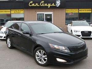2013 Kia Optima EX Turbo - 274HP! Cam, H. Leather, B.T.