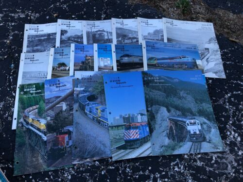 LOT OF EXTRA 2200 SOUTH railroad magazine