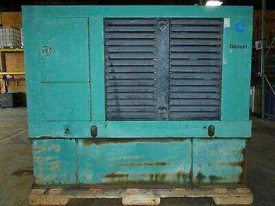 125kw Cumminsonan Standby Diesel Generator 480v 200 Gallon Tank - Running ...