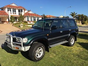 1997 Toyota Landcruiser GXL 80 series Currambine Joondalup Area Preview