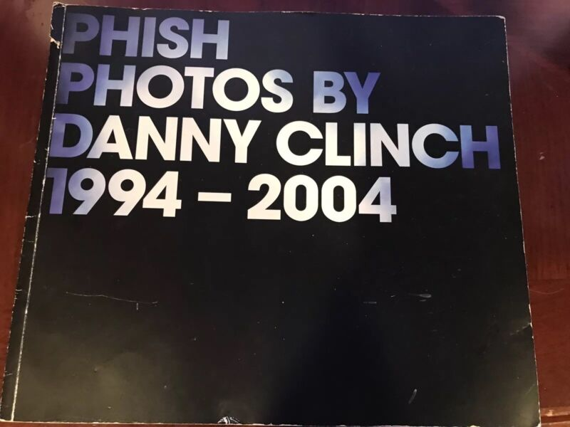 Phish Autographed book Phish photos by Danny Clinch 1994-2004