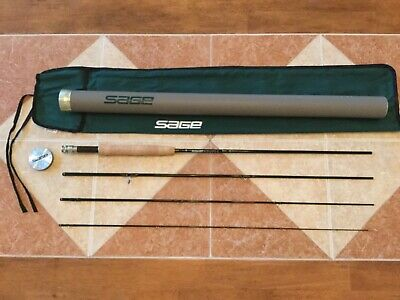 Sage XP 9ft 5wt 4pc 590-4 fly fishing rod w/tube & sock (for 5wt line reel) Sage Rods Reels