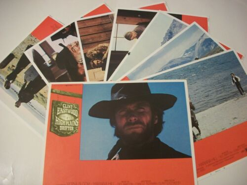 High Plains Drifter  lobby card set 1973
