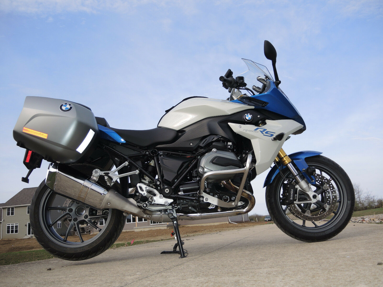 2016 bmw r1200rs loaded 7210 miles nice extras luggage. Black Bedroom Furniture Sets. Home Design Ideas
