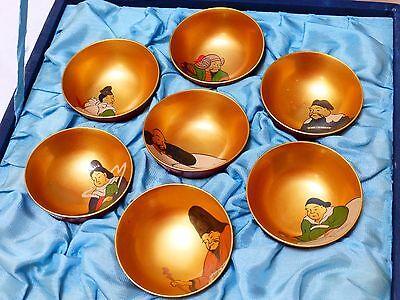 Vintage Japanese Mini Lacquer Bowl