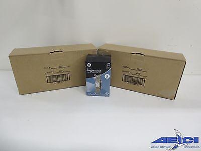 Ge Toggle Switch Vac White Pressure Lock Wiring 4 Pack Lot Of 2 Master Packs