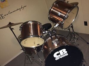 Mint CB drum set