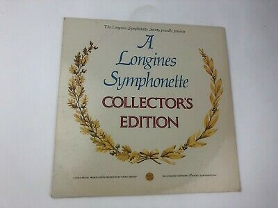A Longines Symphonette Collector's Edition Vintage Record VINYL VG+