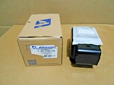 1 Nib Allanson 421340 Ignition Transformer 120v 23ma Mid Pt Grounded 2 Avail