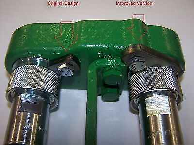 Oliver White Tractor Pioneer Hydraulic Coupler Retainer 105240a Improved Design