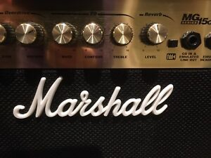 AMPLIFIER FOR ELECTRIC GUITAR - MARSHALL