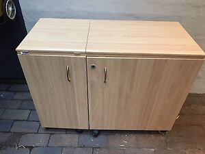 As new Horn sewing cabinet with variable extendable configurations North Sydney North Sydney Area Preview