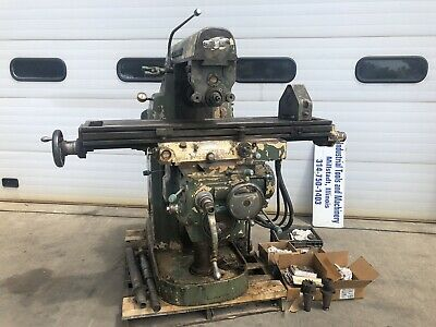 Cincinnati 12x54 Horizontal Milling Machine 205-12 M1 With Tooling