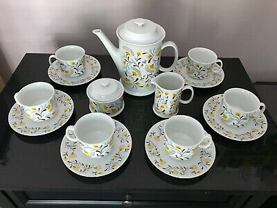 Vintage Josefina Loucky Coffee/Tea Set - 17 pcs - Made in Czechoslovakia