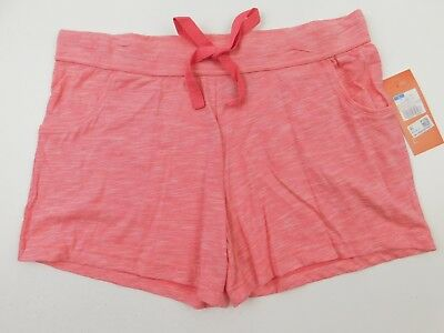 Gilligan /& O/'Malley Palazzo Bermuda Womens Plus size XXL Capri Pants PJ Bottoms