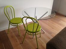 Glass table and four chairs North Sydney North Sydney Area Preview