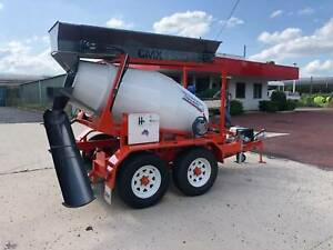 Cement Mixer / Concrete Batching Plant Trailer Model CMX1500 Yass Yass Valley Preview