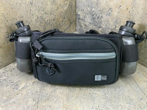 Elite Survival Marathon Gun Pack 8101-GY Concealment Hydration Belt Gray Accent