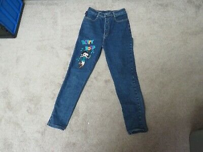Betty Boop Jeans (JAMES CAT JEANS - HIGH WAISTED WITH EMBROIDERED BETTY BOOP W/27 L/32)