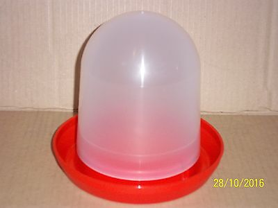 5 X 1.5 LTR WATER DRINKER FOR CAGE & AVIARY BIRDS, HENS , PIGEONS ETC