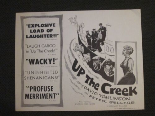 Up The Creek    - Original Movie Title  Card  - Peter Sellers