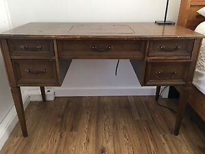 Antique sewing desk