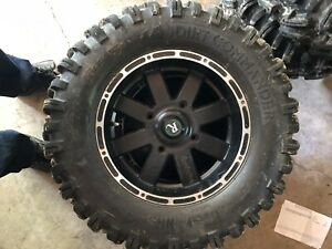 """want to trade 27"""" Dirt commander tires for hard trail tires"""