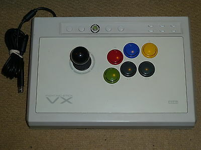 Hori Fighting Stick 360 - MICROSOFT XBOX 360 HORI VX FIGHTING STICK USB JOYSTICK JOY FIGHT ARCADE-  White