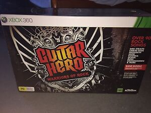 Guitar Hero: Warriors of Rock - Complete Band Bundle - Brand New! Thornlie Gosnells Area Preview