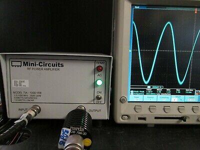 Rf Power Amplifier 500 Khz To 1000 Mhz 4 Wt Tested Mini-circuits Tia-1000-1r8