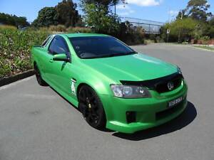 Hard to find 2008 Holden commodore VE SS Ute in green. Haberfield Ashfield Area Preview