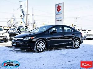 2012 Honda Civic EX-L ~Nav ~Heated Leather ~Power Moonroof