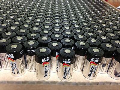 Usa  50 Energizer 3V Cr123a Batteries For Camera  Flashlight Etc Exp  2027