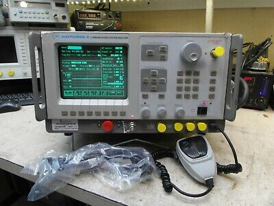 Motorola R2600b Hs Communications Service Monitor Spectrum Analyzer Tracking Gen