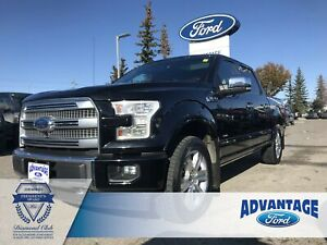 2017 Ford F-150 Platinum One Owner - Clean Carfax