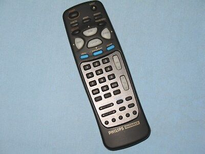 Philips Magnavox   Remote Control   Model   N9321ud