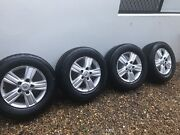 Toyota landcruiser Sahara rims . 18inch cooper tyres x4 Wakerley Brisbane South East Preview