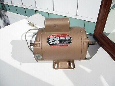 Dayton Electric Motor 34 Hp Magic Mill