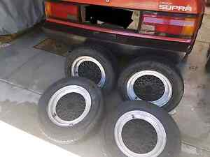Rims with good tyres Semaphore Port Adelaide Area Preview